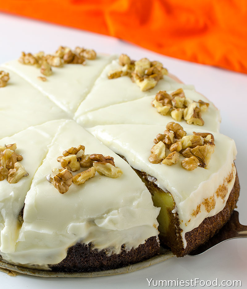 Pumpkin Cake Cheesecake - a Whole Cake