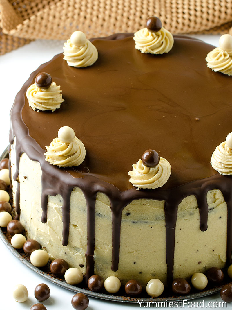 Chocolate Mocha Layer Cake - a Whole Cake
