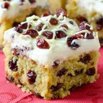 Christmas Cranberry Coffee Cake - Featured Image