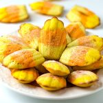 Easy Candy Corn Madeleine Recipe - Featured Image