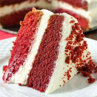 Red Velvet Cake - Featured Image