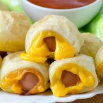 Easy Pigs In a Blanket with Hot Dogs - Featured Image