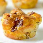 Mini Pizza Monkey Bread Recipe - Featured Image