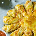 Pizza Puff Pastry Twists - Featured Image
