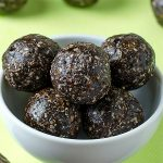 Healthy German Chocolate Bites Recipe - Featured Image
