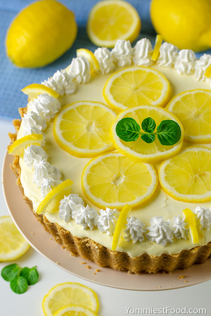 No Bake Lemon Cream Pie - a Whole Pie