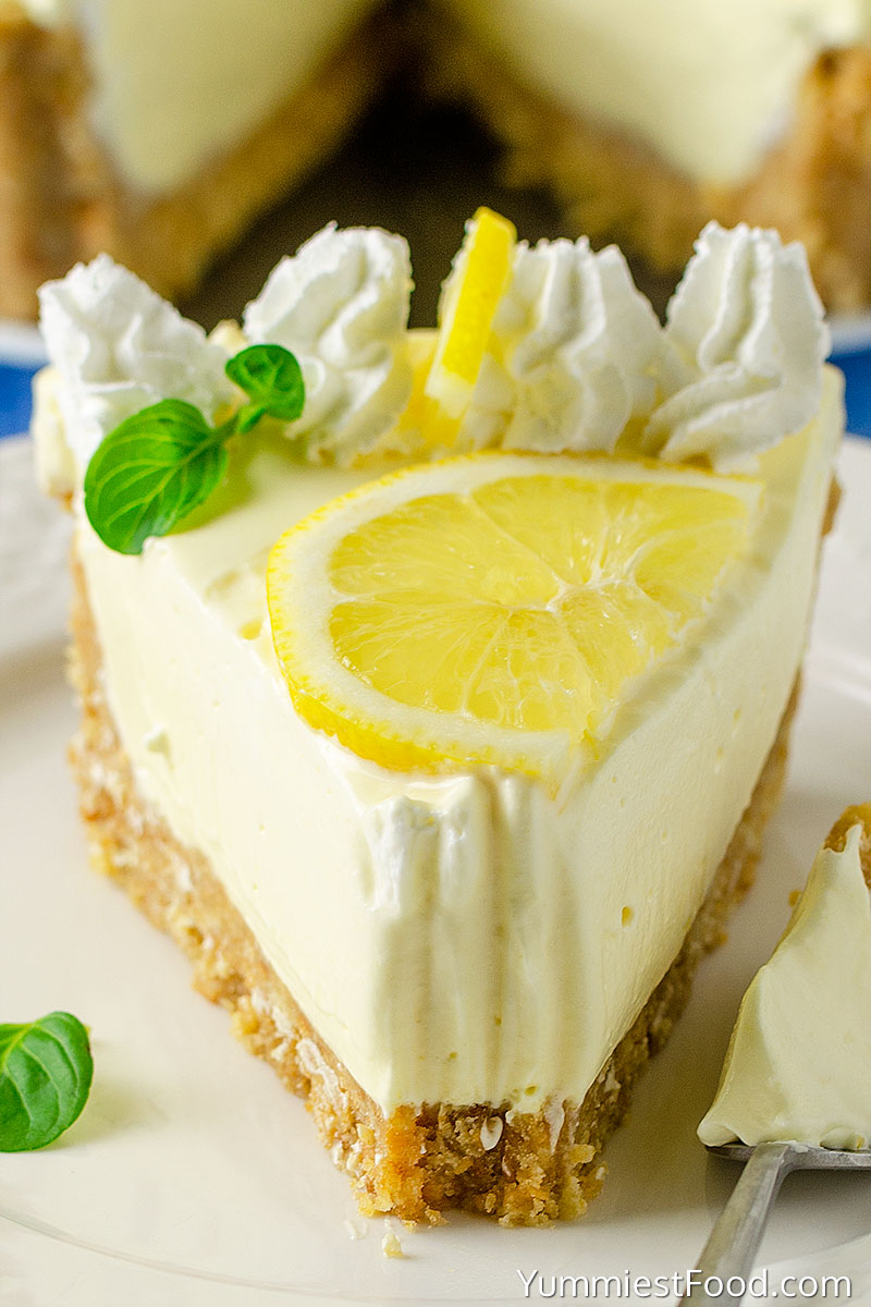 No Bake Lemon Cream Pie