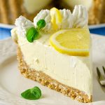 No Bake Lemon Cream Pie Recipe - Featured Image