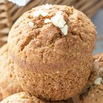Cinnamon Nutmeg Oatmeal Muffins Recipe - Featured Image