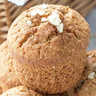 Cinnamon Nutmeg Oatmeal Muffins Recipe - Featured Image
