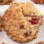 Strawberry Oatmeal Cookies Recipe - Featured Image