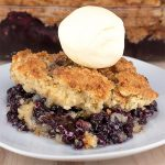 Blueberry Cobbler - Featured Image