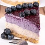 No Bake Blueberry Cheesecake - Featured Image