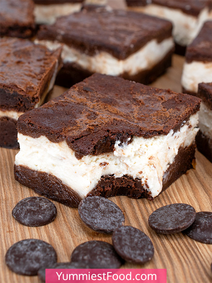 Frozen Cheesecake Brownie