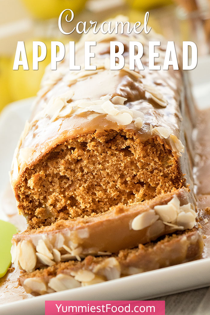 Caramel Apple Bread with Cinnamon and Nutmeg Recipe
