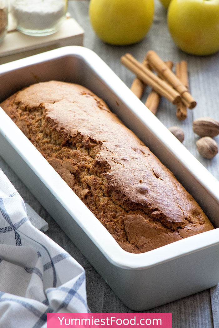 Caramel Apple Bread - a Whole Bread