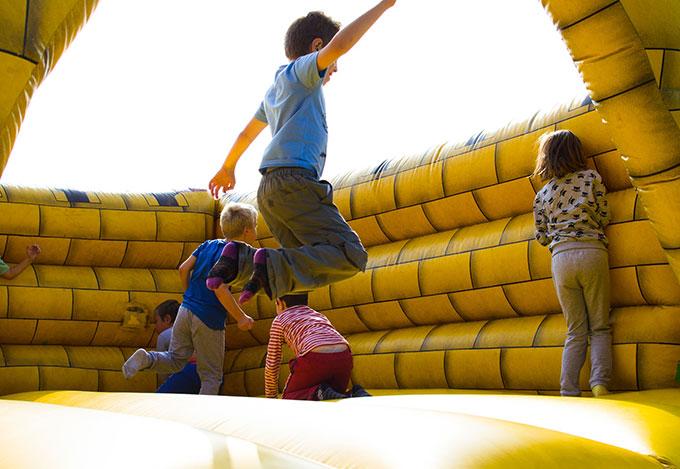 action activity bouncy castle