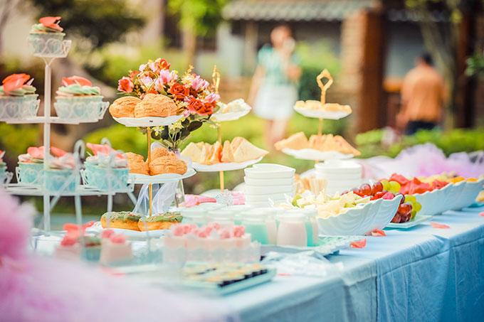 baby shower birthday buffet