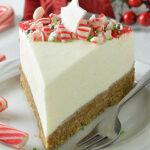 Christmas White Chocolate Cheesecake featured image