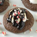 Peppermint Hot Chocolate Cookies Recipe - Featured Image