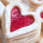 Valentines Vanilla Shortbread Cookies - Featured Image