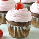 Cherry Coke Cupcakes Recipe - Featured Image