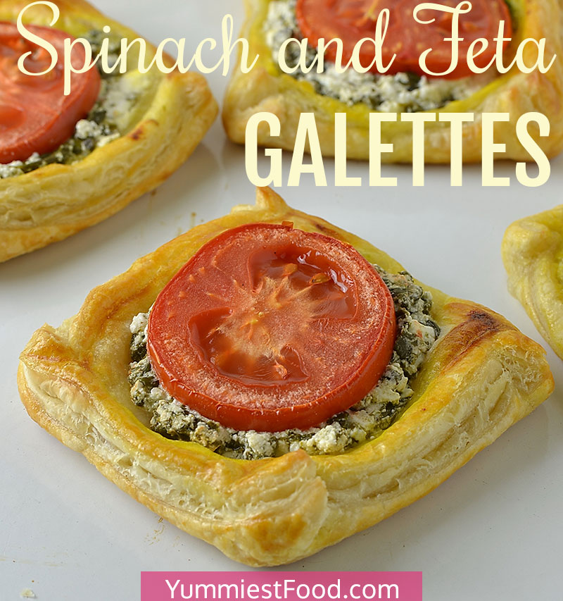 Spinach and Feta Galettes Recipe