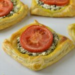Spinach and Feta Galettes Recipe - Featured Image