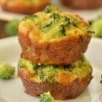 Broccoli Cheddar Egg Muffins Recipe - Featured Image