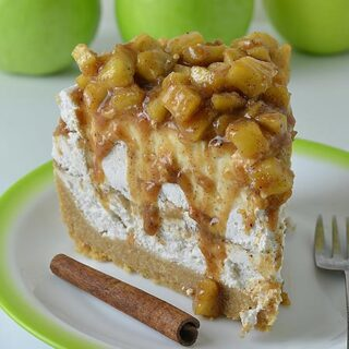 Apple Butter Cheesecake Recipe - Featured Image