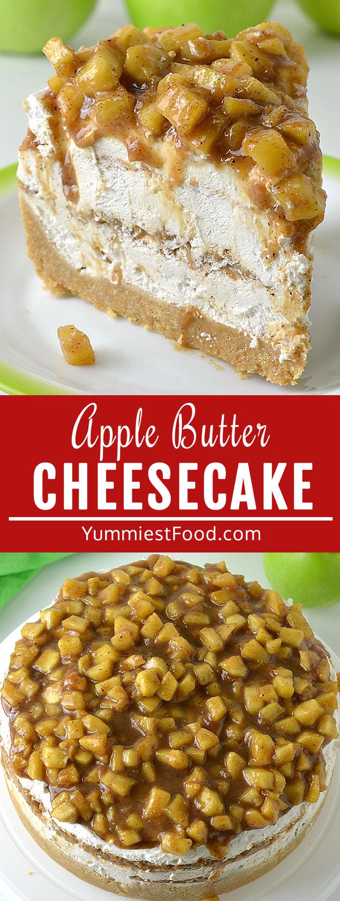 Apple Butter Cheesecake Recipe